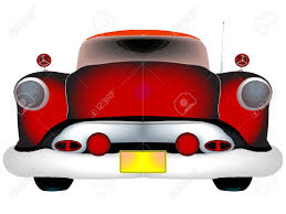 classic cars clip art red classic car against white background abstract vector art