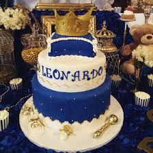 royal prince baby shower cake baby leonardo royal theme cake