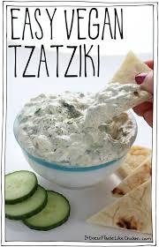 cuisiner vegan easy vegan tzatziki recette accompagnements sauce et mes recettes