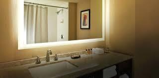 Illuminated Bathroom Wall Mirror Lighted Wall Mirror Diy Illuminated Bathroom Mirrors For Bathrooms