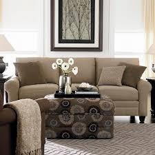 hgtv home design studio at bassett cordoroy queen sleeper sofa bassett home furnishings