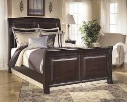 King Sleigh Bed Ridgley King Sleigh Bed Complete Beds Pruitt S Furniture