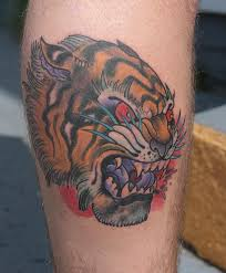 collection of 25 tiger angry tiger design