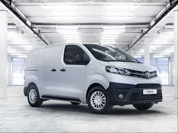 van toyota new toyota proace van business car manager