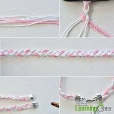 bracelet braid thread images How to make waxed polyester cord kumihimo bracelet and braided jpg