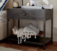 big daddy u0027s antiques metal bedside table pottery barn