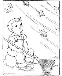 leaf coloring kid color pages 2 color