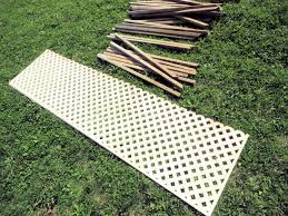 privacy fence panels wood with nice lattice ideas loversiq