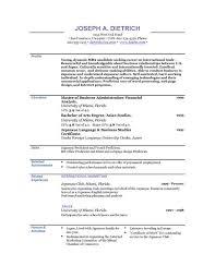 good resume templates free jospar