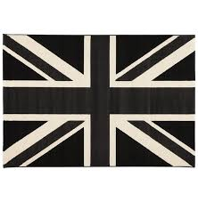 Tapis Salon Noir Et Blanc by Tapis Rectangulaire Union Jack Poole Drapeau Anglais Gdegdesign