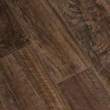 What Happens To Laminate Flooring When It Gets Wet Trafficmaster Lakeshore Pecan 7 Mm Thick X 7 2 3 In Wide X 50 5 8