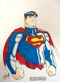 superman sketch by jackademus on deviantart