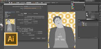 imagen blanco y negro en illustrator opciones de impresión con adobe illustrator lc tutorial