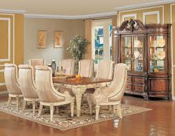 traditional formal dining room hand woven with high quality