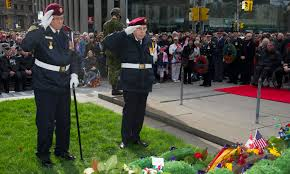 remembrance day 2016 city ceremonies toronto remembers