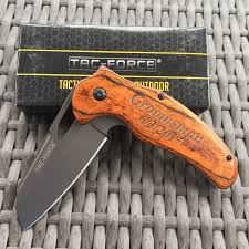 Groomsmen Gifts Knife All Wood Pocket Knife Groomsmen Gifts Hunting Groomsmen Knife