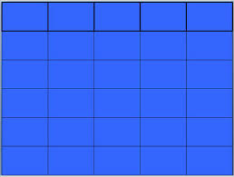 Blank Jeopardy Powerpoint Template Blank Jeopardy Game Template Jepordy Template