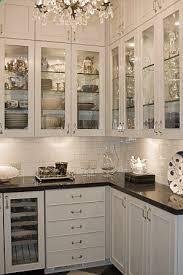 glass door kitchen cabinet lighting glass cabinet doors with glass shelves and lighting inside