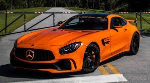 mercedes amg orange renntech amg gt r the orange beast