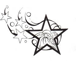 back star tattoo designs drawing star tattoo design images free