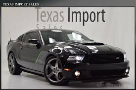 Black 2014 Mustang Gt 2014 Mustang Gt Roush Stage 3 Coupe 6 Speed Manual Black Black We