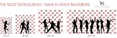 wedding backdrop name weddings custom step and repeat backdrops