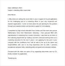 marketing cover letter examples 10 download free documents in