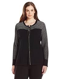 fashion bug womens plus size pointelle sweater jacket www
