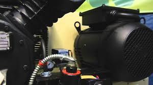 ingersoll rand 80 gallon 7 5 hp compressor 143 youtube