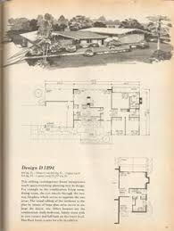 Mid Century Modern House Plan Vintage House Plans Vacation Homes 1960s House Ideas