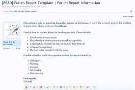 how to make forums u0026 in game reports guide mineverse forums