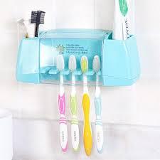 aufbewahrungsbox badezimmer aliexpress baispo multifunktionale zahnbürstenhalter
