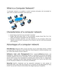 basic of computer networks notes