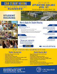 Bakersfield Zip Code Map by Student Housing And Residence Life California State University