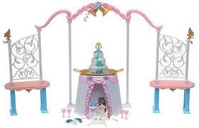 Vanity Playset Image Barbie As The Princess And The Pauper Double Wedding And