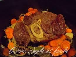 cuisiner un jarret de boeuf jarret de boeuf à la sauce tomate cuisine simple et facile