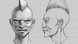how to draw a portrait from different angles creative bloq