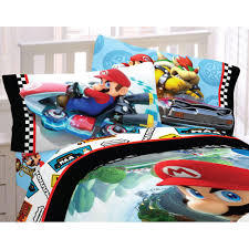 Mario Bedding Set Mario Bedding Nintendo Comforter Rumble Sheet Set Obedding