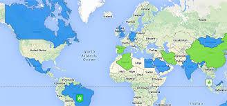 29travels around the world