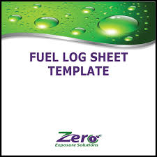 fuel report template fuel log sheet template zero exposure solutions