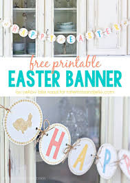 Easter Bunny Decorations Printable by 25 Best Happy Easter Banner Ideas On Pinterest Easter Banner
