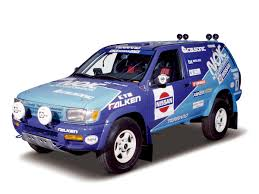 car nissan nissan heritage collection terrano rally car