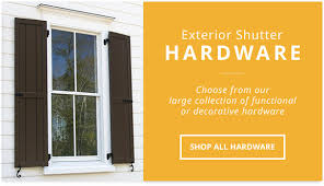 exterior shutters wood vinyl composite aluminum shutters