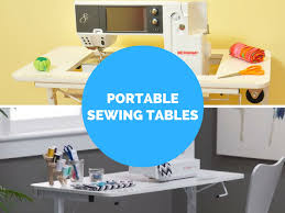 portable sewing machine table our two favorite portable sewing machine tables crafting made easy