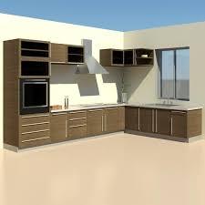 furniture kitchen set building rfa furniture kitchen revit
