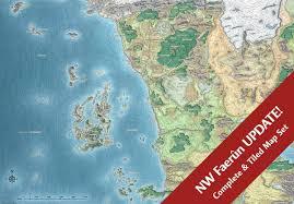 Faerun Map Mike Schley On Twitter