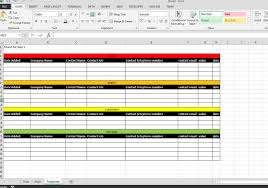 Contact Spreadsheet Template Excel Vba Splitting Data Into Report Table Stack Overflow