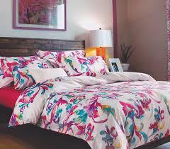 designer pink and blue artistry college dorm bedding twin xl comforter