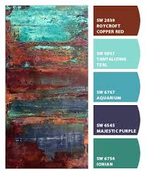 diy idea for old suitcase paint colors rust and paint