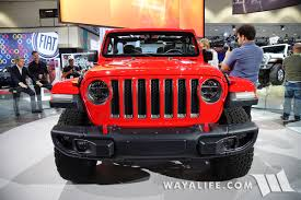 jeep wrangler red 2017 la auto show jeep jl wrangler red rubicon 2 door